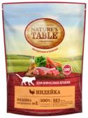 Корм для кошек Nature's Table при чувствительном пищеварении, для здоровья кожи и шерсти, с индейкой