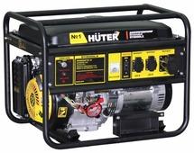 Бензиновая электростанция Huter DY8000LX