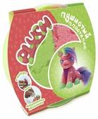 Масса для лепки PLUSH Пушистый розовый + зелёный 160 гр (PL02201801)