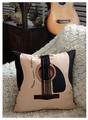 Подушка декоративная ЭнигмаСтиль Гитара, 40 x 40 см