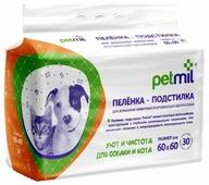 Пеленки для собак впитывающие Медмил Petmil 60х60 см