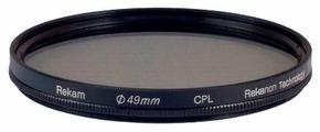 Светофильтр поляризационный круговой Rekam CPL 49 мм