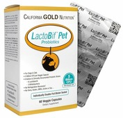 Напиток-пребиотик California Gold Nutrition LactoBif Pet Probiotics