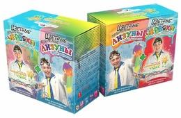 Набор Инновации для детей Цветные лизуны+червяки