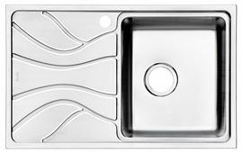 Врезная кухонная мойка IDDIS Reeva REE78SRi77 78х48см нержавеющая сталь