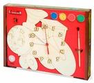 Нескучные игры Набор для росписи Часы с циферблатом Паровозик (ДНИ114)