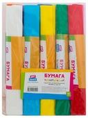 Цветная бумага крепированная в рулонах ArtSpace, 25х200 см, 10 л., 10 цв.