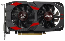 Видеокарта ASUS GeForce GTX 1050 Ti 1303MHz PCI-E 3.0 4096MB 7008MHz 128 bit DVI HDMI HDCP CERBERUS