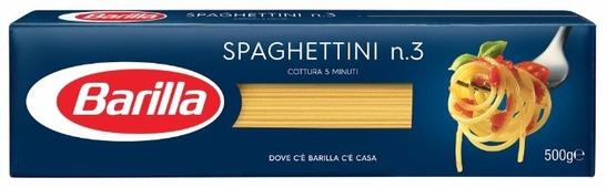 Barilla Макароны Spaghettini n.3, 500 г