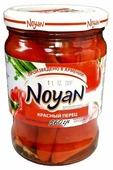 Маринованный красный перец с растительным маслом NOYAN стеклянная банка 560 г