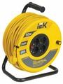 IEK Удлинитель на катушке 4х50м с заземл. 16А IP20 УК50 Industrial с термозащ. 3х1.5