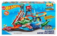 Трек Hot Wheels City Ultimate Gator Car Wash FTB67