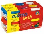 Масса для лепки GIOTTO Вe-be 4 цвета по 100г (464901)