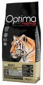 Корм для кошек OptimaNova Cat Adult Chicken & Rice