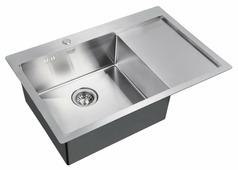 Врезная кухонная мойка ZorG INOX R 7851 78х51см нержавеющая сталь