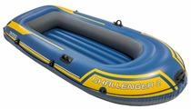 Надувная лодка Intex Challenger-2