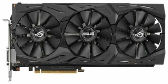 Видеокарта ASUS Radeon RX Vega 56 1297MHz PCI-E 3.0 8192MB 1600MHz 2048 bit DVI 2xHDMI HDCP Strix Gaming OC