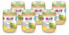 Каша HiPP безмолочная зерновая с яблоком и бананом (с 6 месяцев) 190 г, 6 шт.