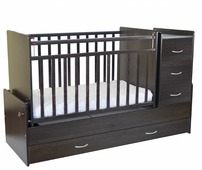 Кроватка СКВ-Компани 53403х (трансформер)