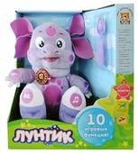 Мягкая игрушка Мульти-Пульти Лунтик кушает с ложечки 24 см