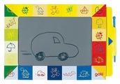 Доска для рисования детская Goki Волшебный экран (58653 )