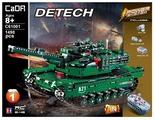 Электромеханический конструктор Double Eagle CaDA deTECH C61001W Танк M1A2 Abrams 2в1