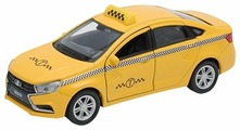 Легковой автомобиль Welly Lada Vesta Такси (43727TI)