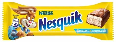 Батончик Nesquik с какао-нугой, 43 г