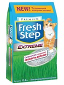 FRESH STEP EXTREME carbon plus - контроль запахов 30 л.