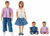Куклы для домика Lundby Семья с двумя малышами, 60806300