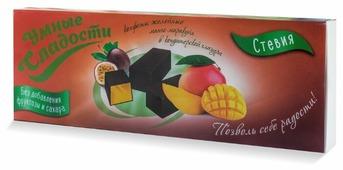 Набор конфет Умные сладости желейные без сахара Манго-маракуйя в кондитерской глазури 105 г