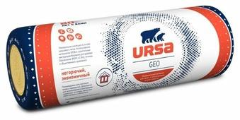 Стекловата URSA Geo Лайт 6250x1200х50мм 2 шт