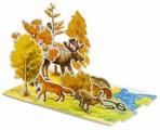 Пазл Умная Бумага Осень в лесу (094), 14 дет.