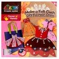 AVENIR Набор для поделок из ткани Модное платье (CH1308)