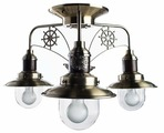 Люстра Arte Lamp Sailor A4524PL-3AB, E27, 180 Вт