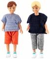 Куклы для домика Lundby Два мальчика, 60806500