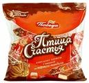 Конфеты Победа вкуса Птица счастья вафельные с начинкой из тертого миндаля в сливочном шоколаде, пакет