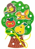 Шнуровка Alatoys Дерево (ШД01)