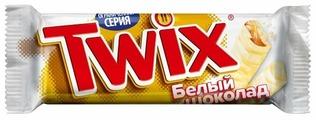 Батончик Twix белый шоколад, 55 г