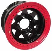 Колесный диск ORW BK1580-54384-19BR 8x15/5x114.3 D84.1 ET-19 черный с бэдлоком