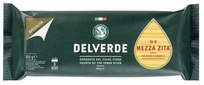 Delverde Industrie Alimentari Spa Макароны Specialita № 8 Mezza Zita, 500 г