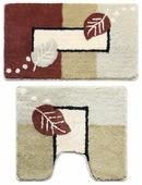 Комплект ковриков Milardo 340PA68M13, 50х80 см, 50х50 см