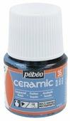 Краски Pebeo Ceramic Синий 025035 1 цв. (45 мл.)