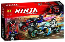 Конструктор BELA Ninja 10802 Уличная погоня