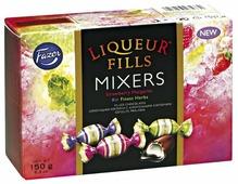 Набор конфет Fazer Liqueur Fills Mixers с алкогольными коктейлями 150 г