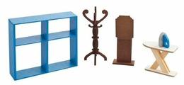 PAREMO Набор мебели для гардеробной комнаты (PDA417-05)