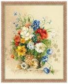 Риолис Набор для вышивания Premium Фламандское лето 40 х 50 см (100/042)
