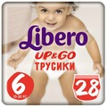 Libero трусики Up & Go 6 (13-20 кг) 28 шт.