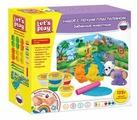 Пластилин Let's Play Забавные животные (36475)