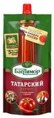 Кетчуп Балтимор Татарский острый с острым перцем и укропом, дой-пак